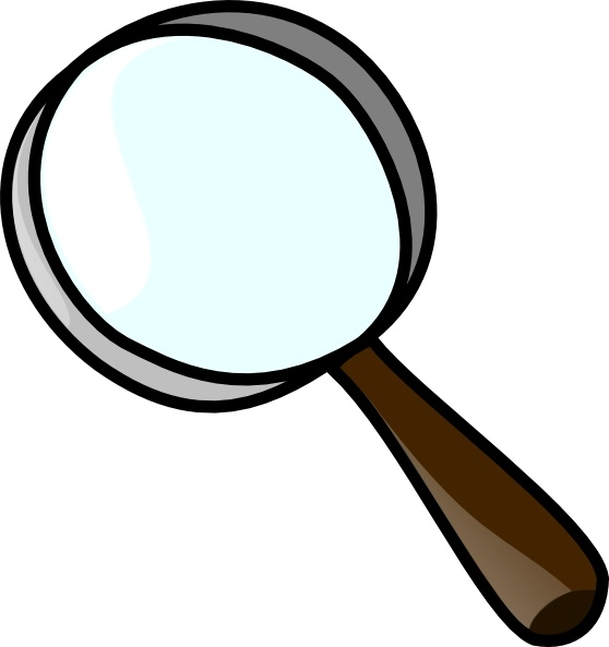 Magnifying glass Royalty-free