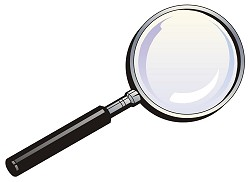 Magnifying - Magnifying Clipart
