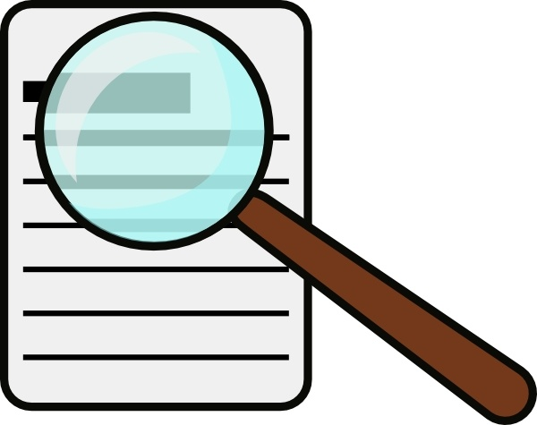 Magnifying Glass clip art - Magnifying Clipart