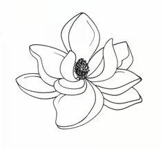 Magnolia Clip Art. Art