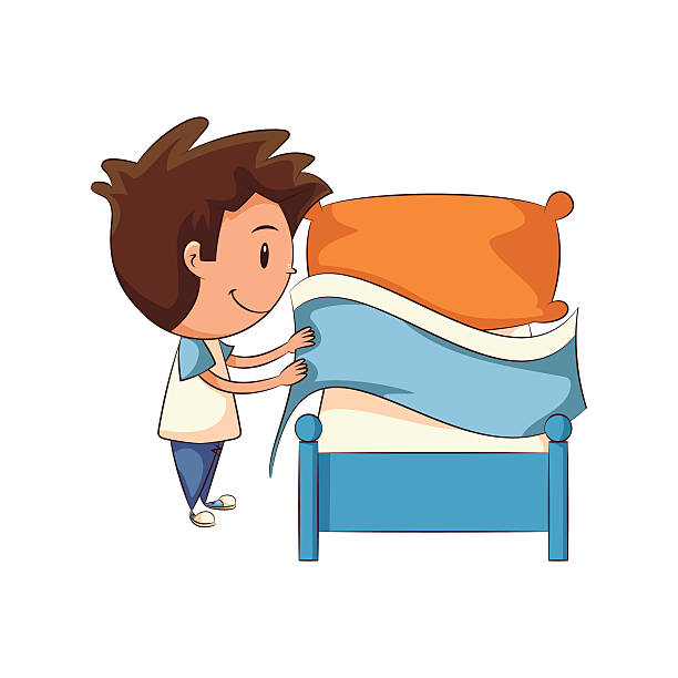make bed clipart