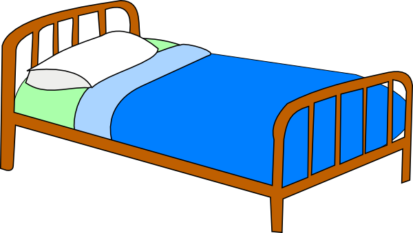 Make bed clipart free clipart images