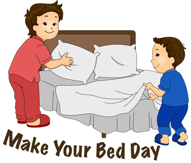 Make Bed Clipart - PNG Image #11855