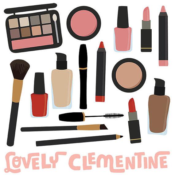 Makeup Clip Art Images, Makeup Clipart, Makeup Vector, Royalty Free Clip Art-  Instant Makeup Clipart
