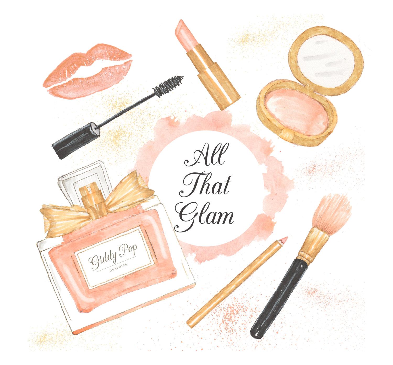 Makeup Clipart Perfume #3