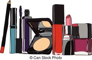 makeup Stock Illustrationsby Lyolya11/431 set of cosmetics - lipstick, lip  gloss, powder, hdclipartall.com