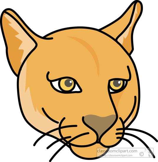 Mammal Clipart Cougar 03 116 Classroom Clipart