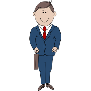 Man in Suit clipart, cliparts of Man in Suit free download
