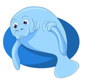 Manatee Clipart Size: 77 Kb From: Marine Life Clipart