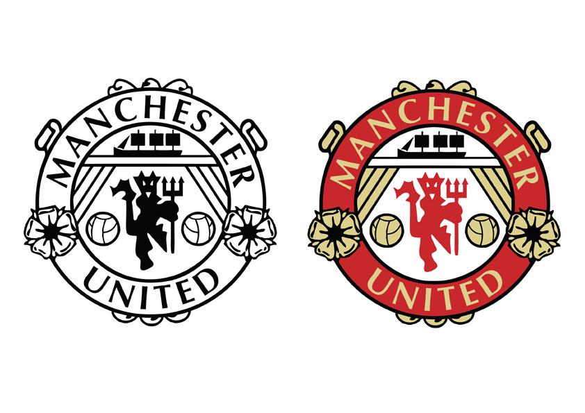 Manchester United Logo Clipart-Clipartlook.com-842