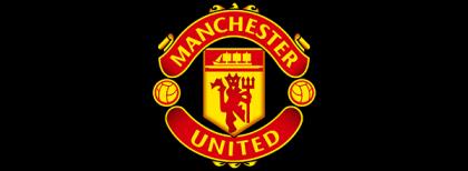 man united logo clipart vector