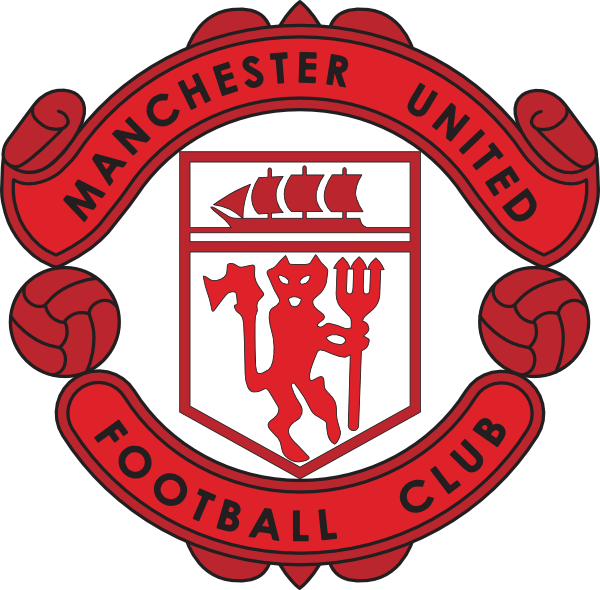 Manchester United Logo PNG Clipart