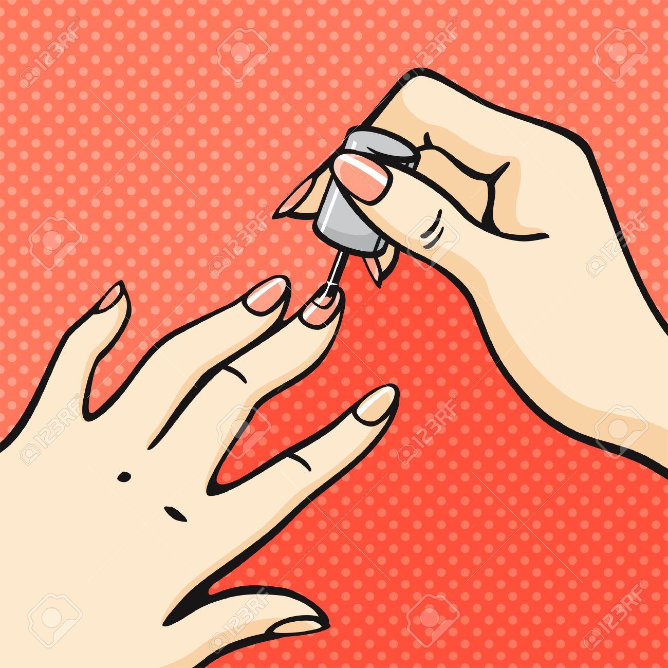 Manicure Clipart #110