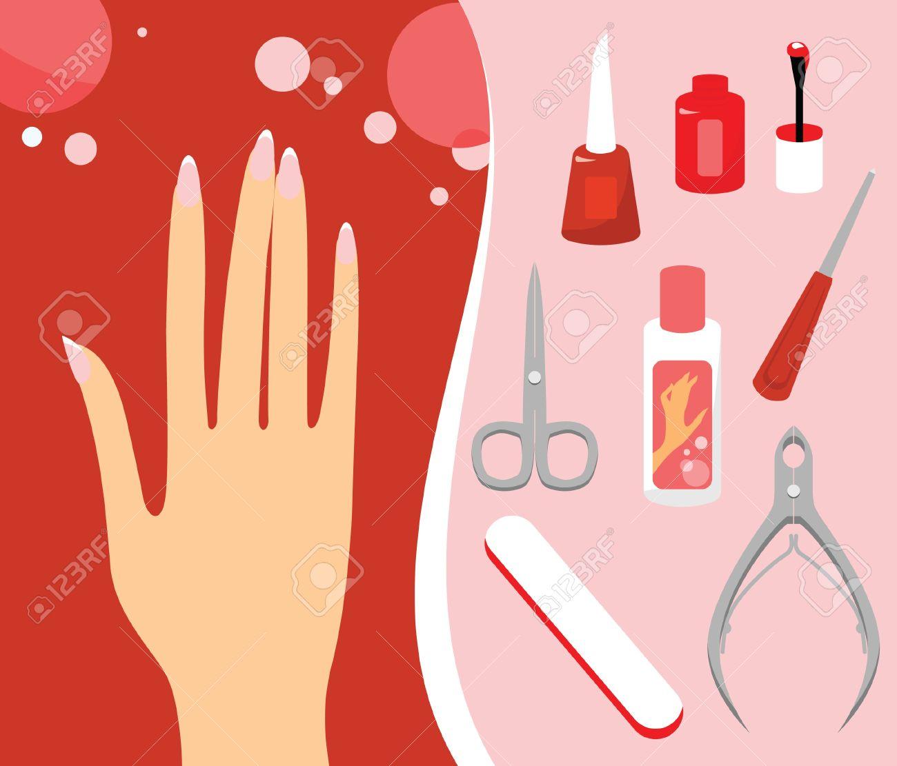Manicure Clipart #17504