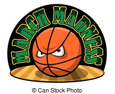 ... March Madness - Vector illustration of a March Madness logo.