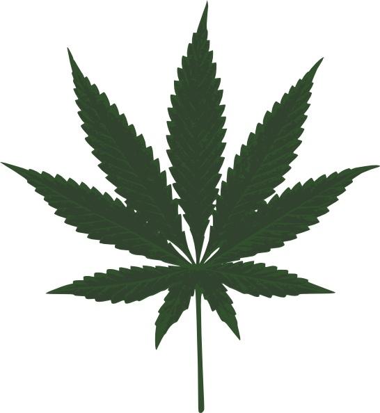 Cannabis Leafs Clip Art