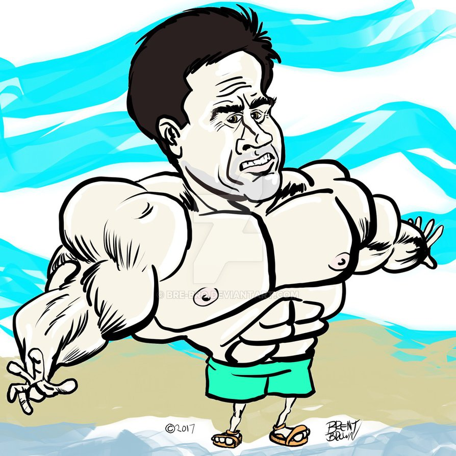 Mark Wahlberg cartoon caricature by bre-bro hdclipartall.com