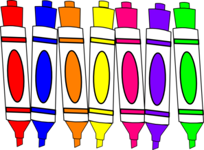 marker clipart black and white