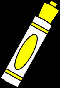 Marker Yellow Clip Art