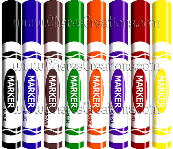 Markers Clipart-hdclipartall.com-Clip Art570