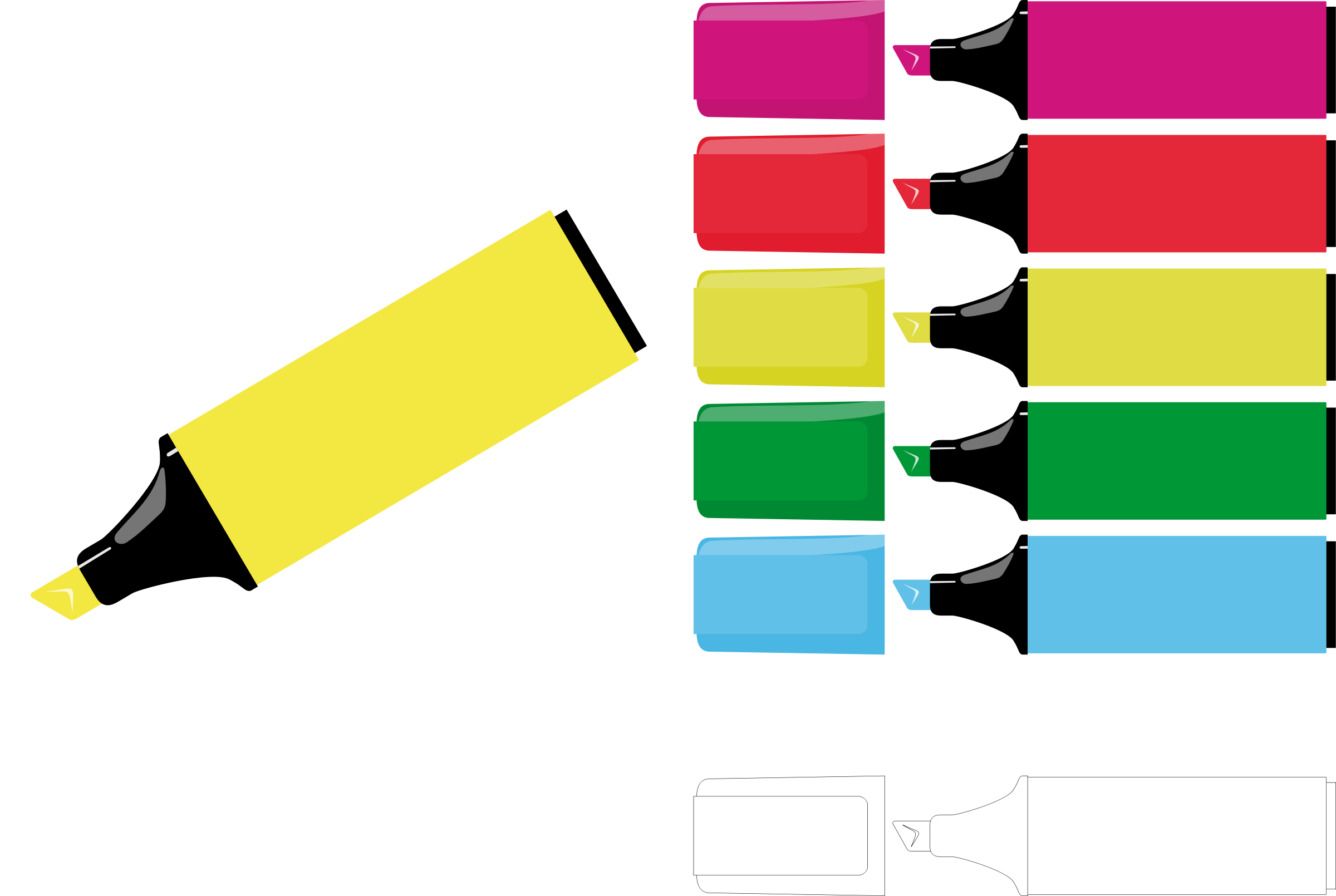 Clipart Markers Clipart
