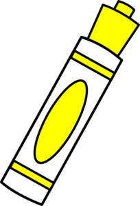 Marker clipart #6
