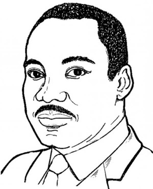Martin Luther King Silhouette Free Cliparts That You Can Download