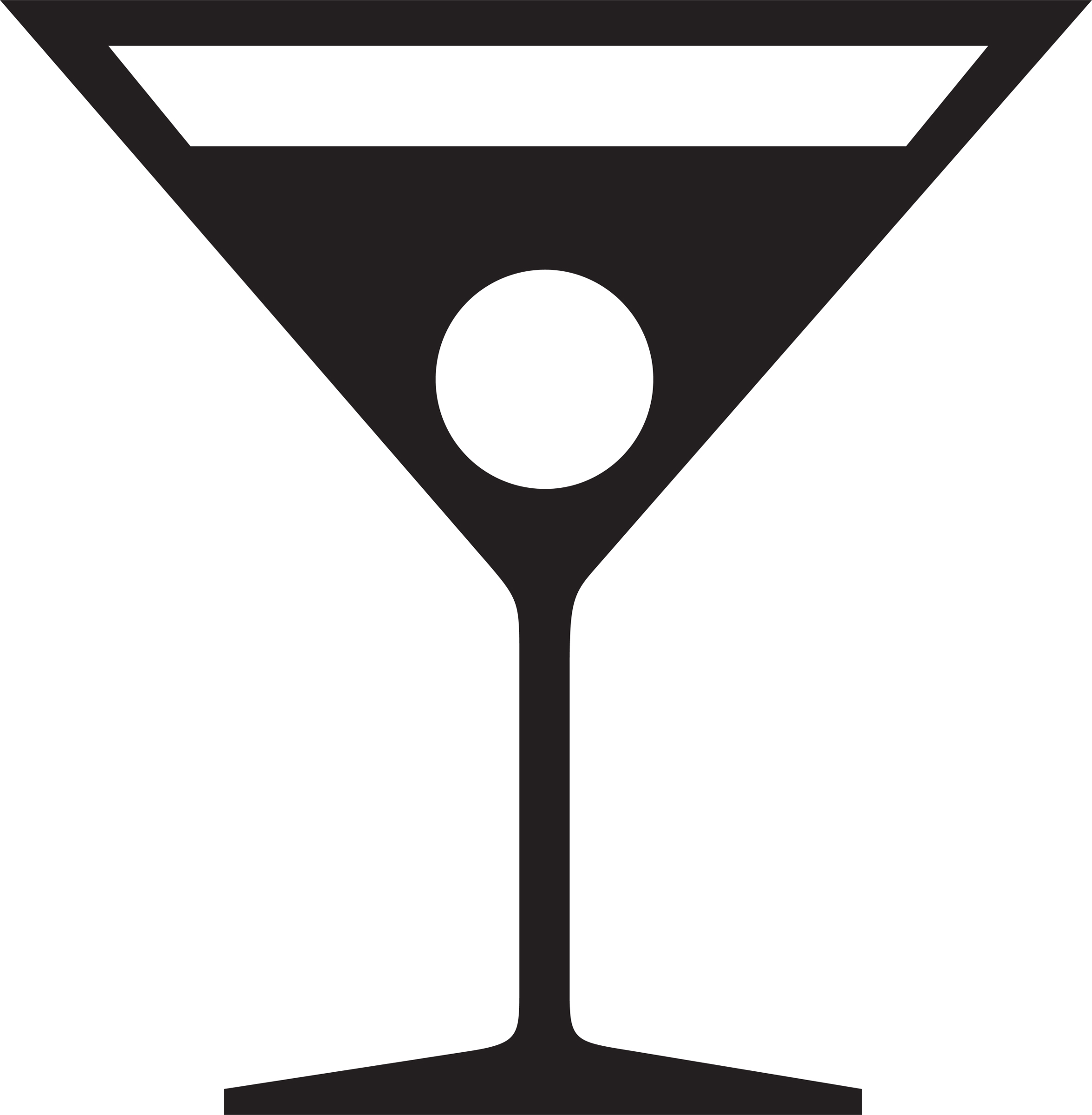 Martini glass cocktail glass clip art vector free clipart image