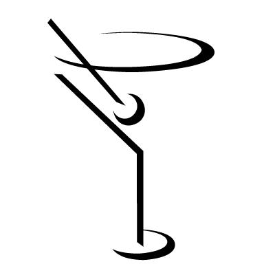 Martini glass martini clip art ... My Little Mixology