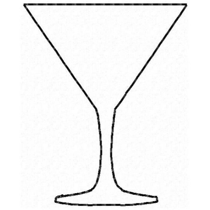 Martini Glass Mini Felt Clipart Panda Free Clipart Images