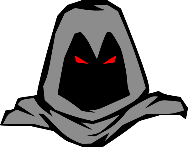 Masked Man Clip Art