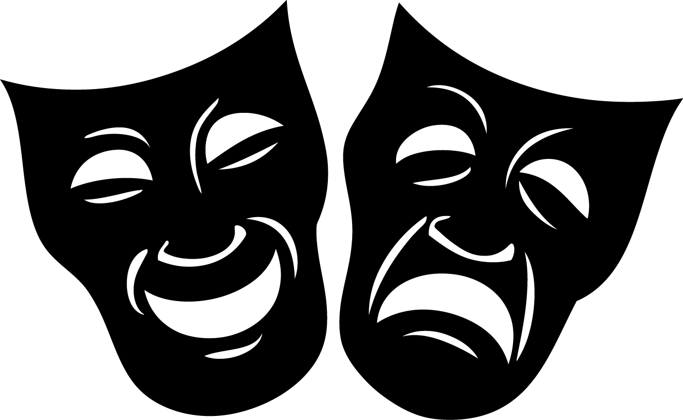 Masks, Drama masks and Father .