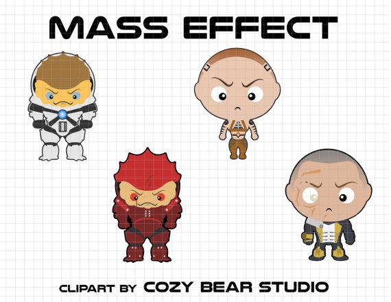 Mass Effect Clipart-Clipartlook.com-570