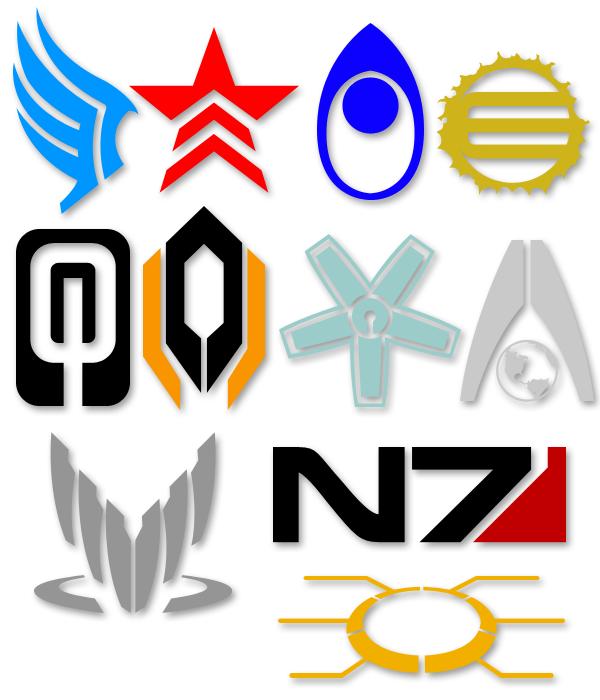 Mass Effect Symbols by Tensen01 ClipartLook.com