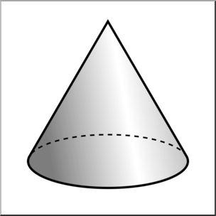 Math Clip Art Cone