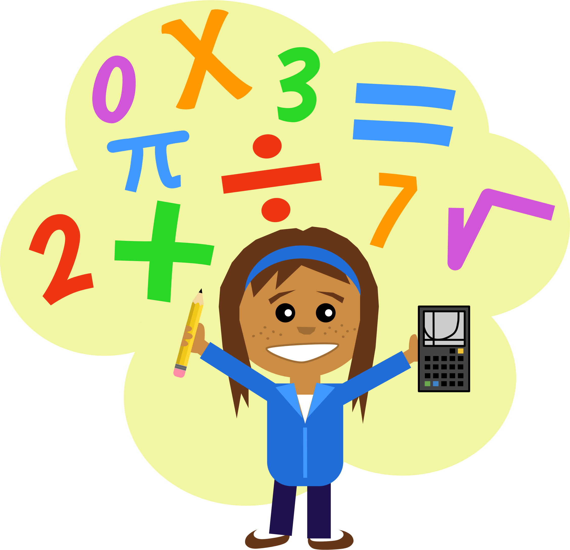 Animated Math Signs Clipart