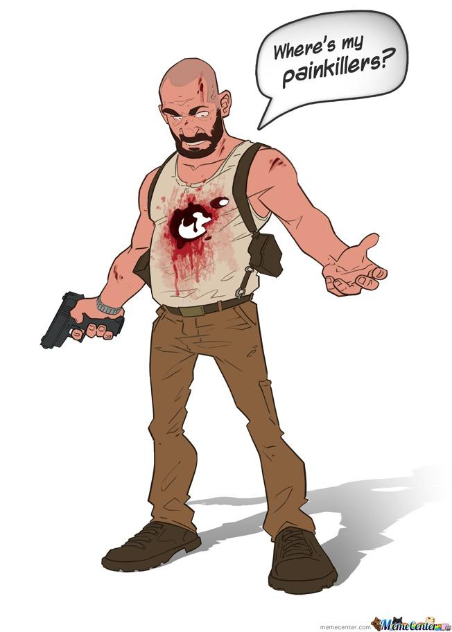 Bald Max Payne