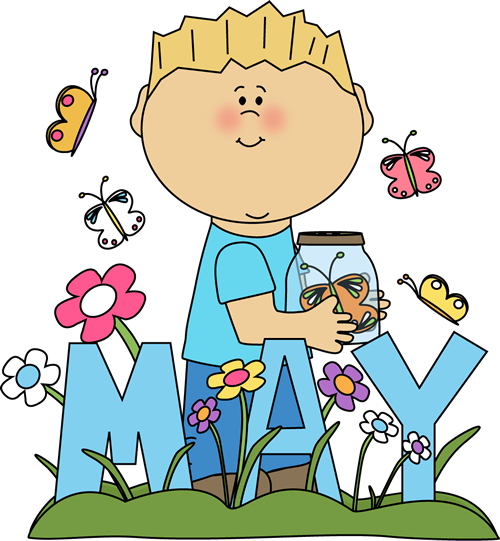 Clip Art Month Of Mayu0026Cli - May Clipart