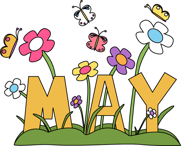May Flowers Free Clipart #1