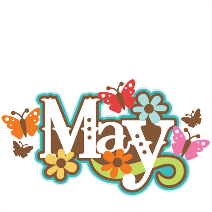 Spring May Flowers Clip Art
