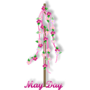 May Day Clipart Image