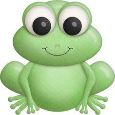 Mbatton bayouprincess frog female gold frog clipart
