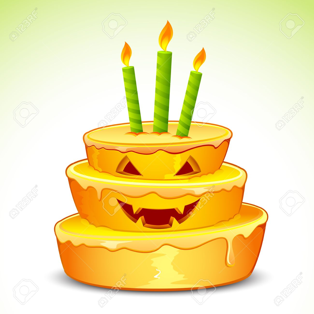 Mead halloween clip art. illustration of pumpkin cake .