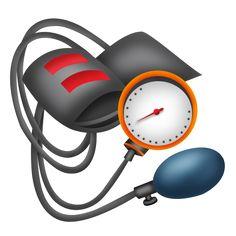 Blood pressure cuff - Medical Clipart