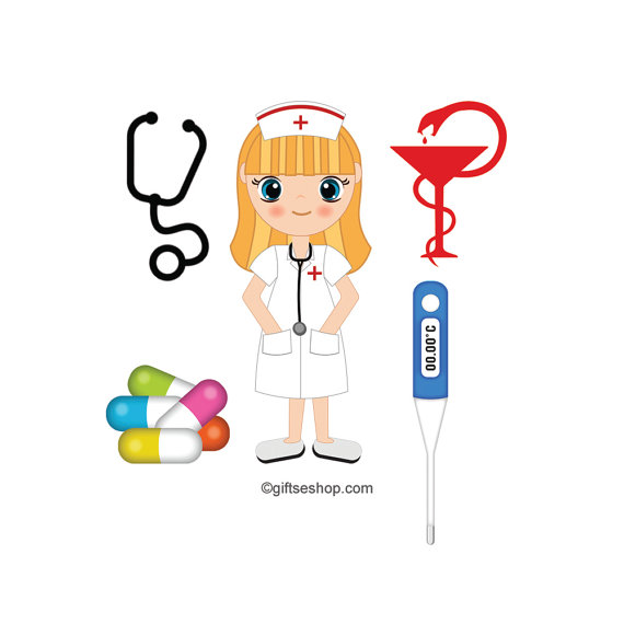 Nurse Images, Medical Clipart, Nurse Clipart, Doctor Clipart, Stethoscope  Clipart, Hospital Clipart, Medical Symbol Clipart, from eDesignSolutions on  Etsy hdclipartall.com