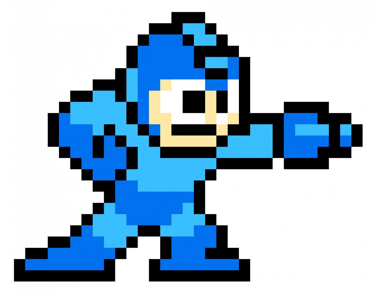 Megaman Clipart 32 bit