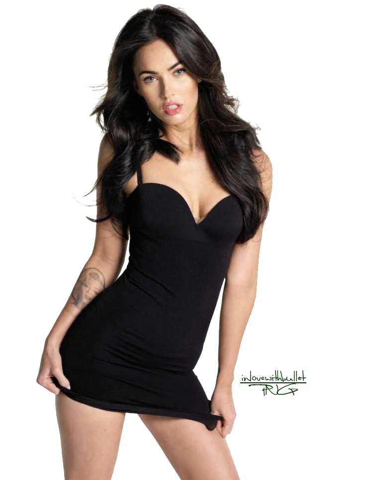 Megan Fox Clipart