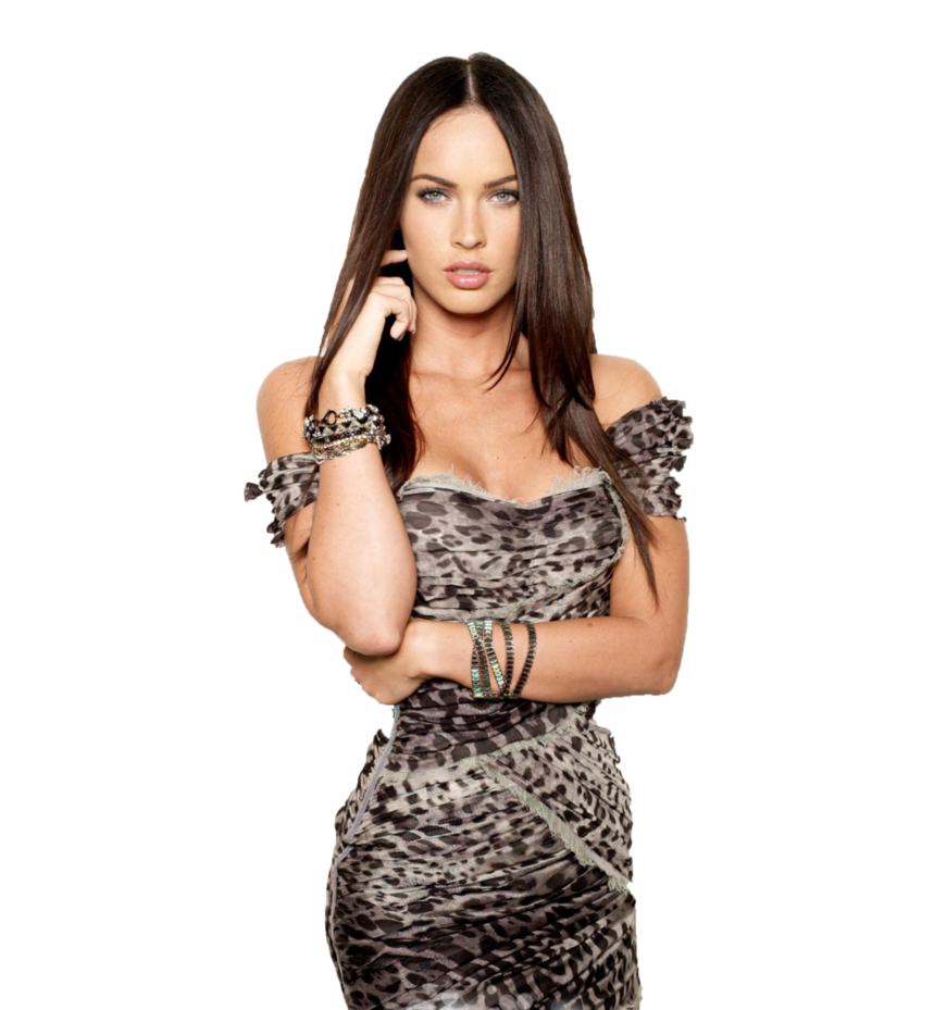 Megan Fox Transparent PNG Image