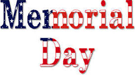 Memorial Day sign - Memorial Day Clipart