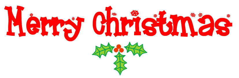 Merry Christmas Clip Art. Merry Christmas 2